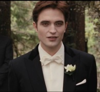 twilight wedding robbert patterson waiting at the altar