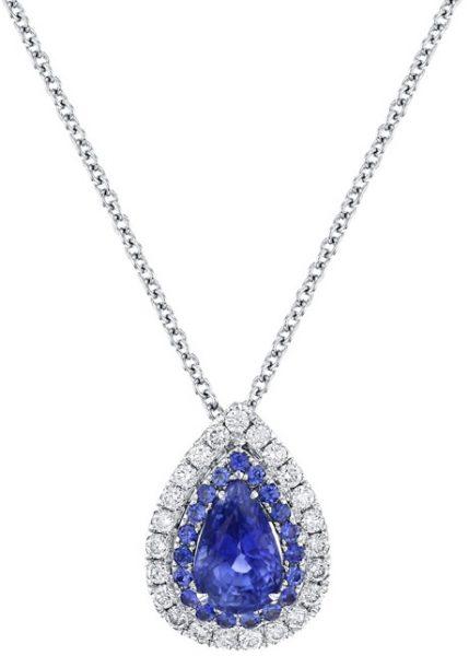 bridal jewellery - blue sapphire