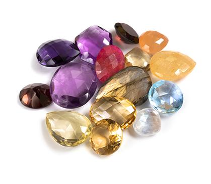 Gemstones Size