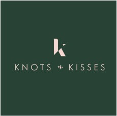 Knots and Kisses Logo